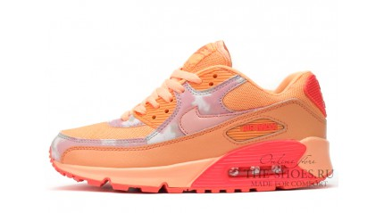 Air Max 90 КРОССОВКИ ЖЕНСКИЕ<br/> NIKE AIR MAX 90 ESSENTIAL PRINTED ORANGE