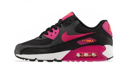 Air Max 90 КРОССОВКИ ЖЕНСКИЕ<br/> NIKE AIR MAX 90 ESSENTIAL PURPLE BLACK