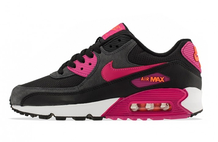 Кроссовки Nike Air Max 90 Essential Purple Dark Gray Black