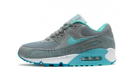 Air Max 90 КРОССОВКИ ЖЕНСКИЕ<br/> NIKE AIR MAX 90 ESSENTIAL GREY TURQUOISE