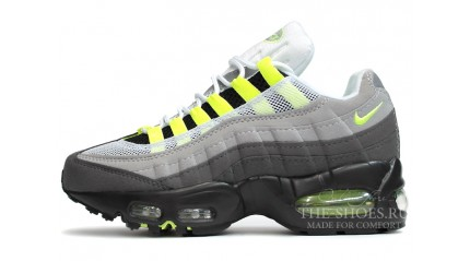 Nike Air Max 95 Dual Grey Venom Green White