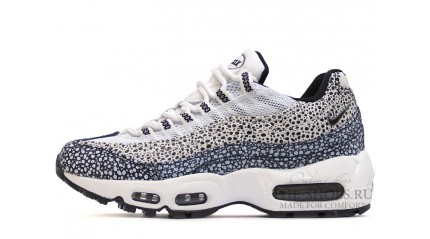 купить Nike Air Max 95 Safari Pack White Gray