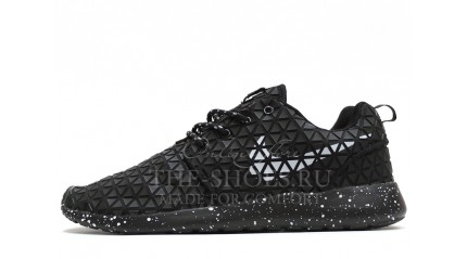 Roshe Run КРОССОВКИ ЖЕНСКИЕ<br/> NIKE ROSHE RUN METRIC BLACK OREO WHITE