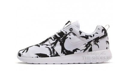 Roshe Run КРОССОВКИ ЖЕНСКИЕ<br/> NIKE ROSHE RUN PALM TREES WHITE