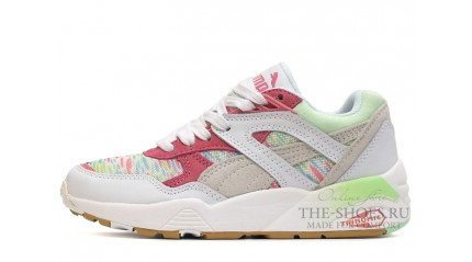 Puma Trinomic R698 Patina White Red Green