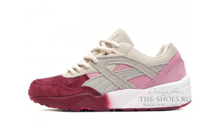 Puma Trinomic R698 Sakura Pink Red White Gray