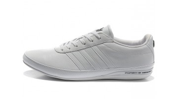 Кроссовки Мужские Adidas Porsche Design S3 leather white