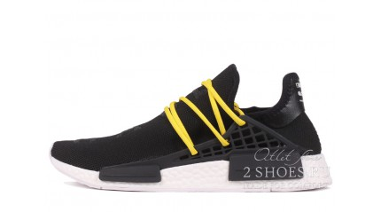 NMD КРОССОВКИ МУЖСКИЕ<br/> ADIDAS NMD HUMAN RACE BLACK YELLOW