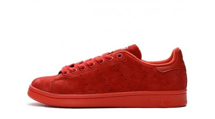 Stan Smith КРОССОВКИ МУЖСКИЕ<br/> ADIDAS STAN SMITH RED POPPY SUEDE PACK