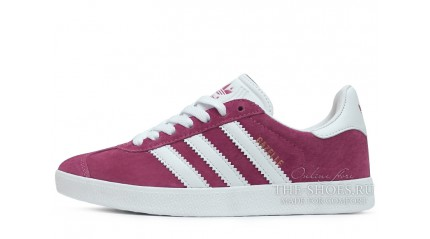 Gazelle КРОССОВКИ МУЖСКИЕ<br/> ADIDAS GAZELLE BURGUNDY WHITE