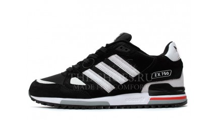 Adidas ZX 750 Black White Gray