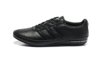 Кроссовки Мужские Adidas Porsche Design S3 leather black