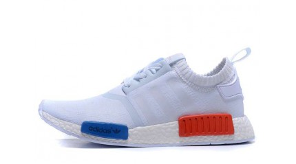 NMD КРОССОВКИ МУЖСКИЕ<br/> ADIDAS NMD RUNNER PRIMKNIT VINTAGE WHITE
