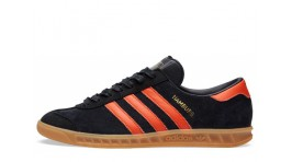 Adidas Hamburg Black Orange черные