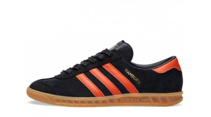 Adidas Hamburg Black Orange