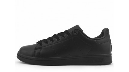 Stan Smith КРОССОВКИ ЖЕНСКИЕ<br/> ADIDAS STAN SMITH BLACK FULL LEATHER