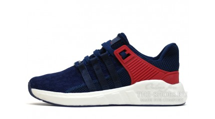 ADIDAS Equipment Support 93-17 Blue Navy Red