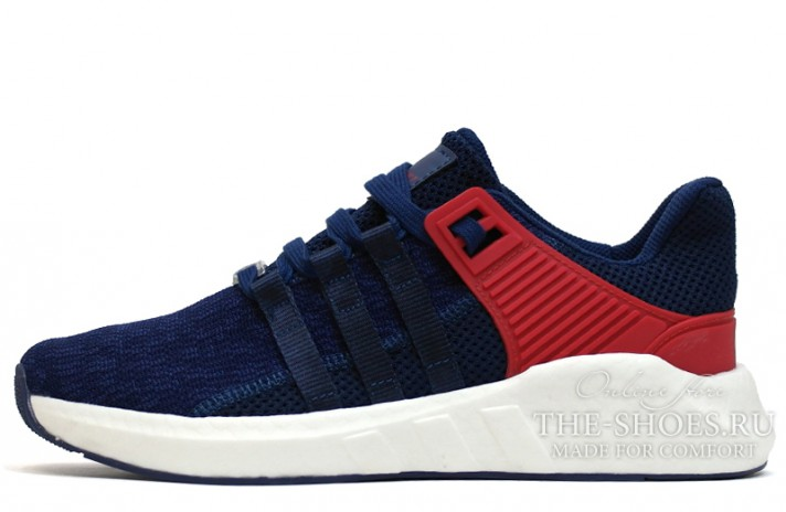 Купить ADIDAS Equipment Support 93-17 Blue Navy Red - темно-синие db8fa6596cc