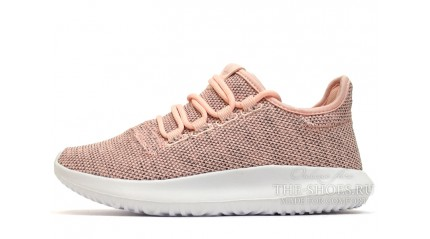 Adidas Tubular Shadow Knit Peach Vintage