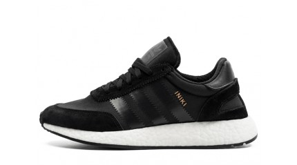 ADIDAS Iniki Runner Black White