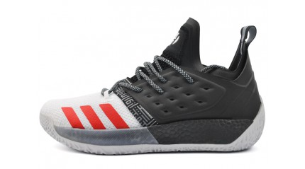 Adidas Harden Vol. 2 Black White Red