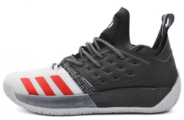 Adidas Harden Vol. 2 Black White Red черные