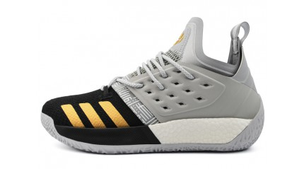 Adidas Harden Vol. 2 Cool Grey Black Gold