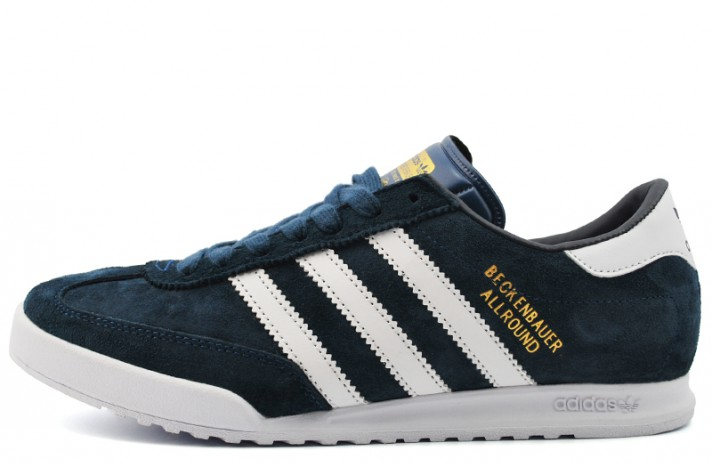 Adidas Beckenbauer Allround Blue White синие