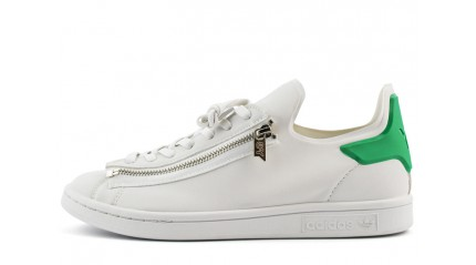 Adidas Stan Smith Y-3 Zip White Green