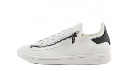 Adidas Stan Smith Y-3 Zip White Black