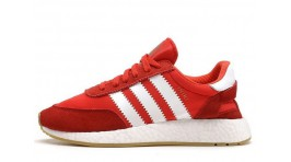 ADIDAS Iniki Runner Red Energy Clear Onix White красные