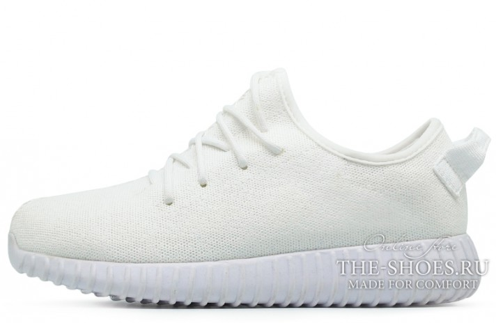 Adidas Yeezy Boost 350 Pure White белые