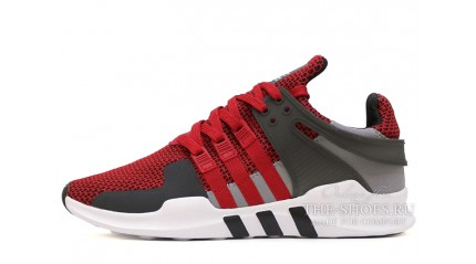 Equipment КРОССОВКИ ЖЕНСКИЕ<br/> ADIDAS EQUIPMENT SUPPORT ADV RED GRAY