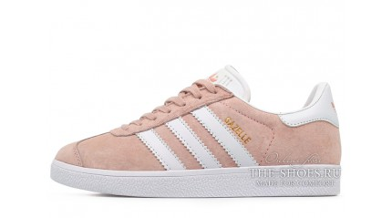 Adidas Gazelle Pink Light White