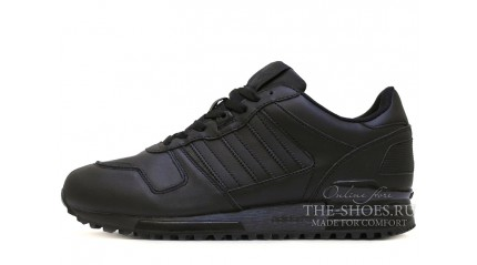 Adidas ZX 700 Black Leather