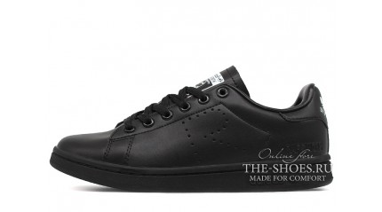 Stan Smith КРОССОВКИ ЖЕНСКИЕ<br/> ADIDAS STAN SMITH RAF SIMONS BLACK FULL