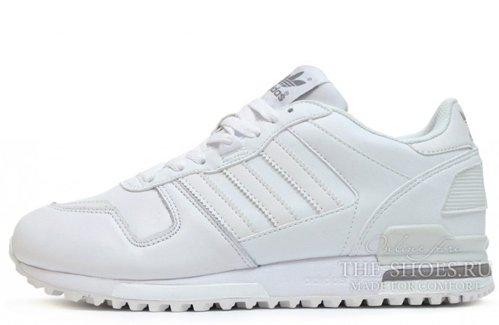 Кроссовки Adidas ZX 700 White Leather