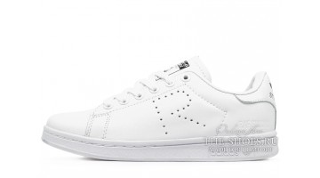 Кроссовки женские Adidas Stan Smith Raf Simons White Pure