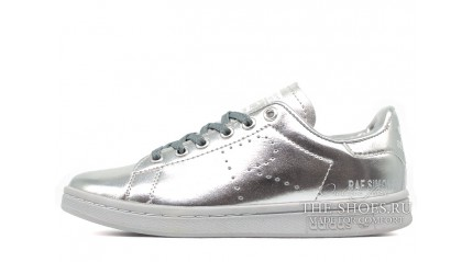 Adidas Stan Smith Raf Simons Metallic Silver