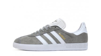 Adidas Gazelle Grey White