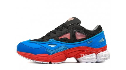 Adidas Raf Simons Ozweego 2 black blue red