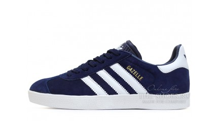 Adidas Gazelle Blue Dark White