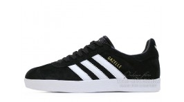 Adidas Gazelle Black White черные