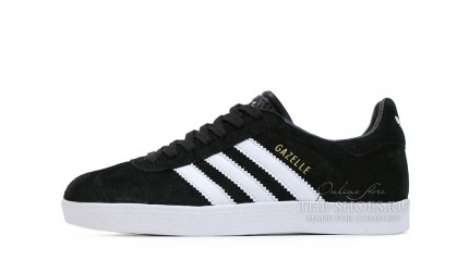 Adidas Gazelle Black White