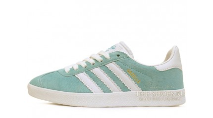 Adidas Gazelle Legend Green Mint White
