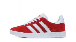 Adidas Gazelle Red White красные