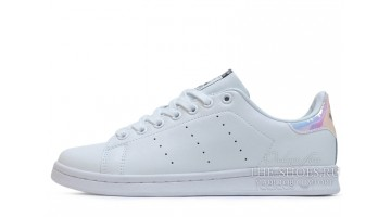 Кроссовки женские Adidas Stan Smith White Hologram Leather