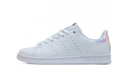 Stan Smith КРОССОВКИ ЖЕНСКИЕ<br/> ADIDAS STAN SMITH WHITE HOLOGRAM LEATHER