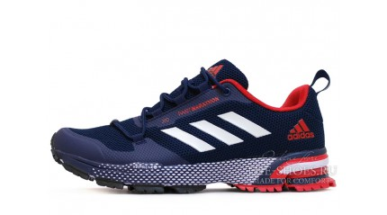 Marathon КРОССОВКИ МУЖСКИЕ<br/> ADIDAS FAST MARATHON 2.0 BLUE DARK RED