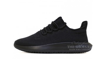 Кроссовки Мужские Adidas Tubular Shadow Knit Black Core
